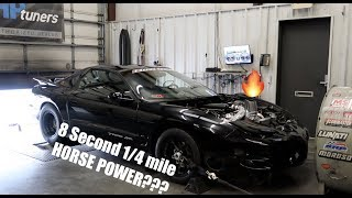 Download How much Horsepower does it take to run an 8 Second 1/4 mile??? Video