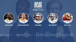 Download UNDISPUTED Audio Podcast (10.19.18) with Skip Bayless, Shannon Sharpe & Jenny Taft | UNDISPUTED Video