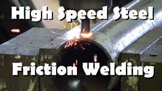 Download HSS Flow Drilling and Friction Welding Video
