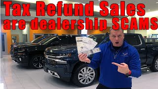 Download 5 scams Car dealers pull during tax season. Video