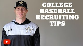 Download College Baseball Recruiting Tip - How To Create a Target List! Video