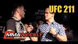 Download UFC 211: Miocic vs dos Santos 2 Fighter Face-Offs Video