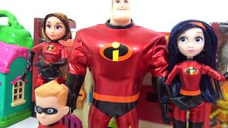 Download Learning Colors with THE INCREDIBLES 2 Characters Slime TOY SCHOOL Surprises Video