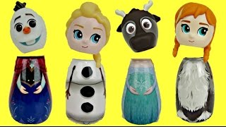 Download Disney Frozen Bath Containers with Queen Elsa, Anna, Olaf & LOL Surprise Dolls Video