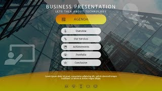 Download How To Design Agenda, Index, Table of Contents Slide in Microsoft Office PowerPoint PPT Video