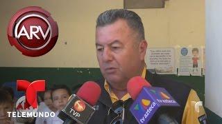 Download Niños mexicanos en peligro por derrumbe en escuela | Al Rojo Vivo | Telemundo Video