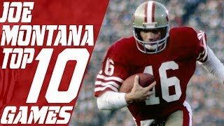 Download Top 10 Joe Montana Games of All Time | NFL Films Video