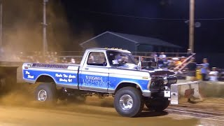 Download 6400 Pro Stock 4x4 Trucks Pulling at Berryville July 2 2016 Video