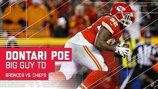 Download Chiefs Defensive Tackle Dontari Poe Throws a TD! | Broncos vs. Chiefs | NFL Week 16 Highlights Video