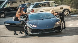 Download PICKING UP UBER RIDERS IN A LAMBORGHINI HURACAN PRANK! | HoomanTV Video