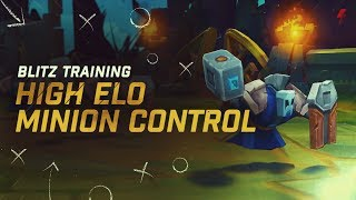 Download How to control minion waves like high ELO players - Freezing, Slow Pushing, & Fast Pushing Guide Video