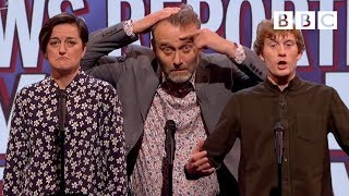 Download Things a news reporter would never say   Mock the Week - BBC Video