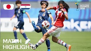 Download Japan v Paraguay - FIFA U-20 Women's World Cup France 2018 - Match 22 Video