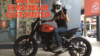 Download Garage Visits : STKD Custom Garage : Ducati Scrambler Video