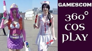 Download 360° Video 4K VR | COSPLAY at GAMESCOM 2015 Video