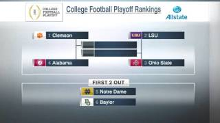 Download College Football Playoff Rankings Revealed! Thoughts? Video