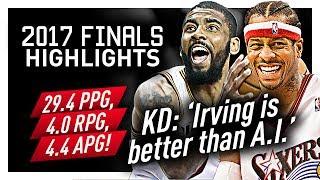 Download Kyrie Irving Offense Highlights VS Warriors (2017 Finals) - SWEET Handles! Video