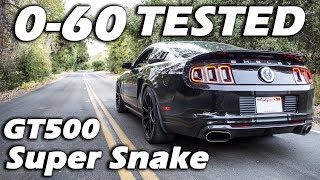 Download GT500 Super Snake 0-60 Results   DODGE DEMON KILLER Video