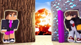 Download Minecraft: DESAFIO DA BASE 100% SEGURA CONTRA BOMBA NUCLEAR ( QUEBROU A BEDROCK )‹ JUAUM › Video