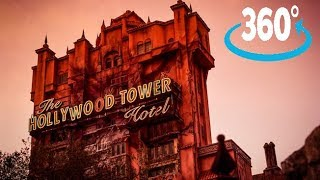 Download 360º Ride on The Twilight Zone Tower of Terror at Disney's Hollywood Studios Video