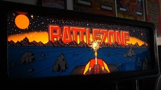 Download 1980 Battlezone Arcade Game! Atari Classic upright cabinet... gameplay, artwork overview Video