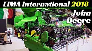 Download EIMA International 2018 - John Deere Tractors, Harvesters & More! - 9470RX, 8370RT, 622F, etc. Video