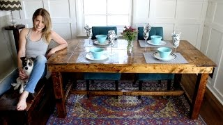 Download The $50 Farmhouse Table - EASY DIY PROJECT Video