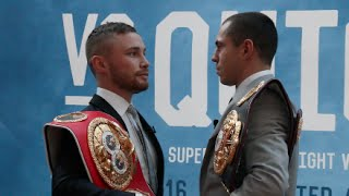 Download CARL FRAMPTON & SCOTT QUIGG EXCHANGE VERBALS AT FIRST EVER HEAD-TO-HEAD / @ LONDON PRESS CONFERENCE Video