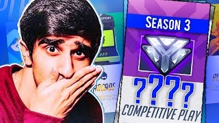 Download GETTING MY SEASON 3 RANK! - OVERWATCH COMPETITIVE GAMEPLAY Video