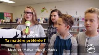 Download Vox pop Allô prof - La vie scolaire au primaire Video