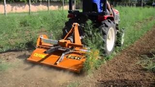 Download Yanmar GK200 tractor field test with a Berti sole 100 Video