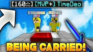 Download Being carried by 150+ stars in Hypixel Bedwars! Video
