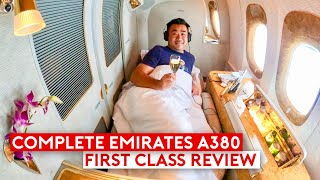 Download The Complete Emirates A380 First Class Review Feature Be Relax Pillow & Travel Products Video