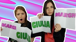 Download SIBLING TAG ( Sister ) | Marghe Giulia Kawaii Video