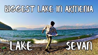 Download THE BIGGEST LAKE IN ARMENIA LAKE SEVAN Video