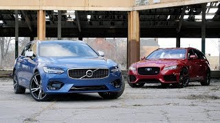 Download Jaguar XF Sportbrake Vs. Volvo V90: No, You Don't Need An SUV Video