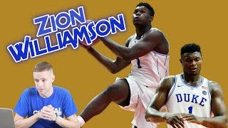 Download Professor Reacts to Zion COLLEGE DEBUT at Duke. Next College Star? Video