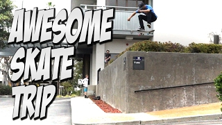 Download AMAZING SAN DIEGO SKATE TRIP Feat. VINNIE BANH & DYLAN JAEB - A DAY WITH NKA - Video