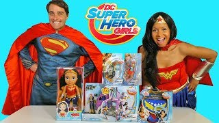 Download DC Super Hero Girls Toy Challenge + Wonder Woman and Superman ! || Toy Review || Konas2002 Video
