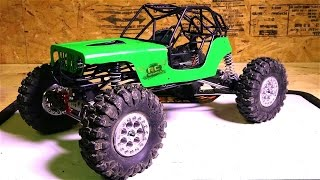 Download RC ADVENTURES - Black Sheep Customs Bouncer Tube Cage Upgrade for Axial Wraith 4x4 Video