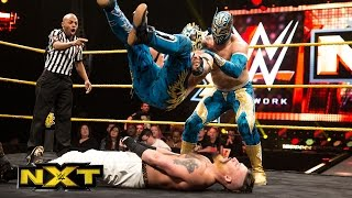 Download Enzo Amore & Colin Cassady vs. The Lucha Dragons – No. 1 Contenders' Match: WWE NXT, March 11, 2015 Video