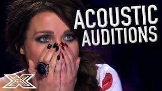 Download AMAZING ACOUSTIC Auditions!   X Factor Global Video