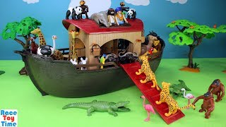 Download Playmobil Animals Ark Playset Build and Play - Fun Toys For Kids Video