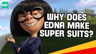 Download Why Edna Mode Makes Super Suits! | Incredibles Theory: Discovering Disney Pixar Video