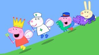 Download Peppa Pig English Episodes   Peppa and Suzy Sheep have a race!   Peppa Pig 2018 Peppa Pig Official Video