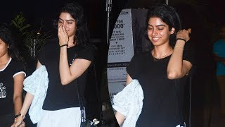Download Sridevi's Daughter Khushi Kapoor Snapped In A No Makeup Look Video