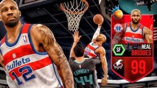 Download 99 NBA RULER NEAL BRIDGES ENDING CAREERS! NBA Live 16 Rising Star Gameplay Ep. 6 Video
