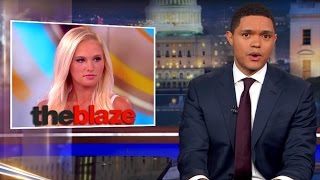 Download Trevor Noah Speaks On Tomi Lahren's Suspension For Her Controversial Comments On the View Video