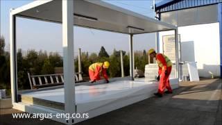 Download Kontejneri za stanovanje ARGUS inženjering, FLAT-PACK sistem. Stambeni kontejneri Video