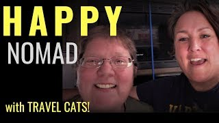 Download MEET CAROL: A Happy Full-Time, Minimalist Nomad (with 3 Travel Cats!) Video